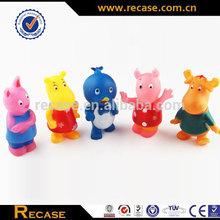 Cheap factory supplies mini safe material cute handmade vinyl toy