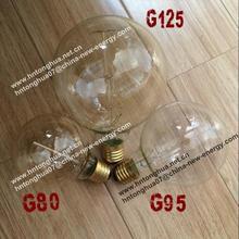 G80 G95 G125 globe light bulb Antique Vintage Edison bulb Carbon filament light bulb