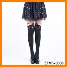 2014 Sexy School Girl Tight s Pantyhose Pattern Christmas Tube Stocking