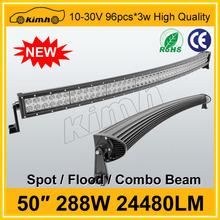 China supplier automobile led atv light bar waterproof