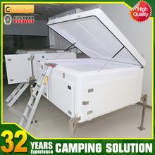 small aluminum car trailer