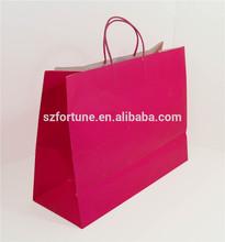 Custom designed white kraft paper tote bags,purchasing bags,tote bags