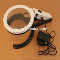 USB desktop handheld magnifier,led magnifying glass