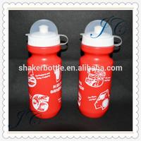 2015 Hot Sale Double Wall Water Bottle /BPA Free Plastic Sports Bottle / Kids Bottle for Promotion