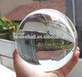 La fábrica de china de vidrio sólida bola de cristal, claro de cristal bolas
