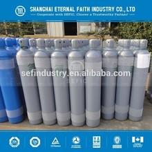 ISO9809 Refined liquid aluminium Seamless Steel High Pressure Argon Gas Cylinder Price
