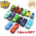 Neue!!! 14pcs/set Pixar wagen 2 wagen sport spielzeugautos für kinder kinder weihnachtsgeschenk mit großhandelspreis