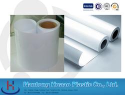 Extruding Plastic Modling Type Light green rigid PVC film for producing plasic Christmas tree