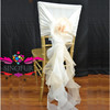 wedding chair cover accessories
