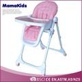 novo estilo de alimentação ajustável cadeira de bebé alta en14988 cozinha plástico cadeira alta