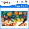 vente chaude en plastique de fruits et légumes jouets pour bébé