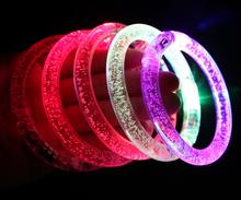 glow bracelet, motion sensor led silicon wristbands bracelets, motion activated led bracelet