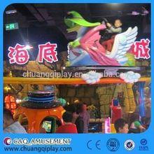 China Air bike amusement rides, Mini toy train amusement park ! children electric fun train