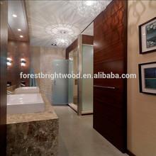 Rustic Flush Sliding Doors for Bathroom