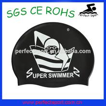 Hot sale silicone swim caps / wholesale silicone swimming caps