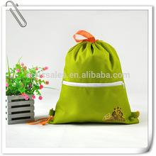 drawstring backpack ,drawstring shoulder school bag,zipper Drawstring Pouch