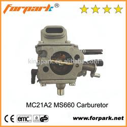 Forpark Garden Tools MC21A2 MS660 carburetor ruixing