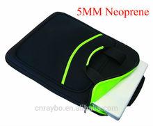 Neoprene laptop sleeve with handles