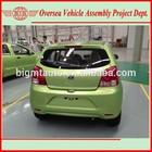 China-made 2015 new 1000cc engine cars