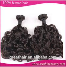 6A Quality Aunty Funmi Hair Weft Romance Curl 100% Brazilian Virgin Remy Human Hair ExtensionsIn Stock 10''--28'' 3pcs/lot