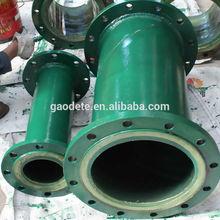 Lined PU gas pipe, wear resistant steel pipe
