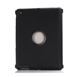 Defender Impact Tough Heavy Duty Hybrid Hard Cover Case For Apple iPad 2 3 4