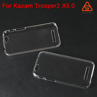 For Kazam Trooper2 X5.0 PC plastic hard case new mobile accessories Painting colorful rubber soft case phone cover