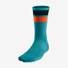 crew cotton knit athletic custom design made wholesale logo sport custom socks