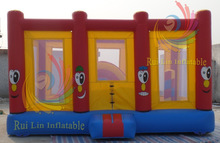snoopy cartoon style inflatable small playground