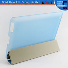 2015 high quality for iPad 5 cases ,for iPad 5 stand leather resting folder case