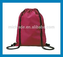 Made in China nylon drawstring laundry bag,nylon mum bag