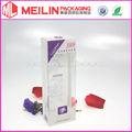 Cuidado de la piel Caja de Crema Embalaje de plástico transparente
