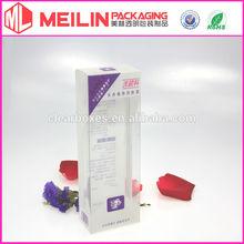 transparent plastic Skin Care Cream Packaging Box