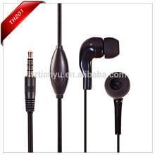 Black Earbud 3.5mm connectors Headphones Earphones Headset New for Apple iPhone iPod