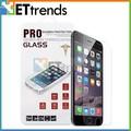 de tendencias de productos calientes 2014 9h claro templado de vidrio protector de pantalla para el iphone 6
