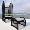 baratos de mimbre al aire libre de mimbre silla de salón de muebles