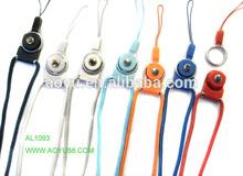 2014 Promotional fashion AZO free 45*0.4cm nylon keychain lanyard wholesale(size can be changed)