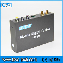 car dvb-t tuner with Video decoder H.264/ MPEG-4/Real Video