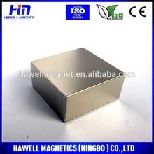 Permanent Magnet Neodymium Block Shape for Genenrator