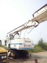 Second hand drilling machine, Max piling depth 61m, SOILMEC R516 Rotary drilling rig