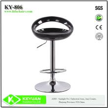 Modern Adjustable cheap used black bar stool