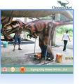 erwachsene realistische dinosaurier kostüm velociraptor