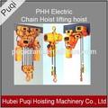 phh polipasto de cadena eléctrico de elevación de elevación