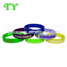 High quality bulk cheap popular silicone wristband
