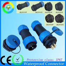 IP67 outdoor waterproof Circular 7 pin connector