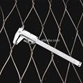 La mano- tejido de acero inoxidable para la cerca de seguridad