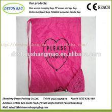 eco high quality foldable laminated photo print shopping bag