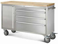 hot 48 inch tool storage husky tool trolley cabinet box cheap with wheel one storage
