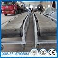 Resistente a altas temperaturas móvil cinta transportadora de venta
