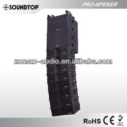 china hot sale outdoor SOUNDTOP long throw speaker line array L-8
